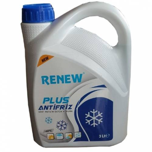 RENEW Plus Mavi Antifiriz -40C 3 Litre 331229544
