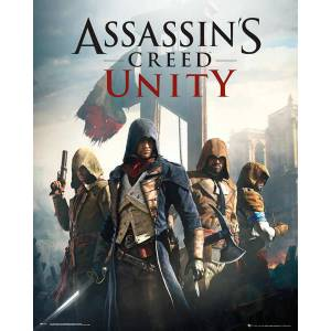 ASSASSINS CREED UNITY MINI POSTER İTHAL