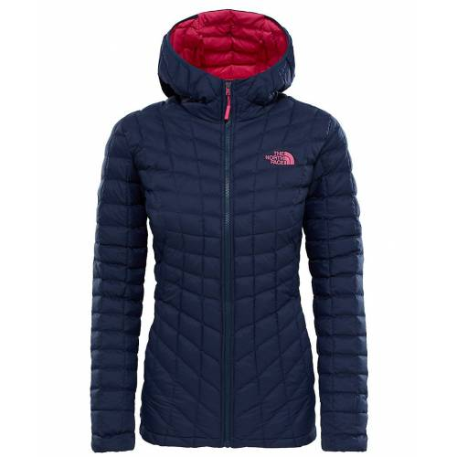 The North Face Thermoball Hoodie Kadın Mont Lacivert