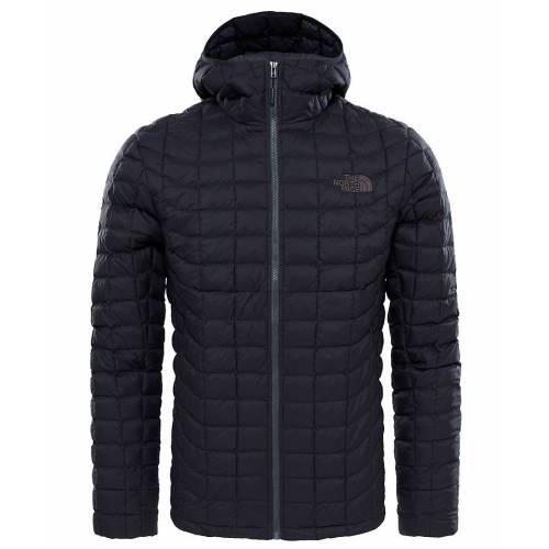 The North Face Thermoball Hoodie Erkek Mont Siyah