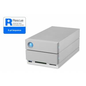 Lacie 16tb 3.5 Inc 2big Dock Station 2x Thunderbolt3 STGB16000400