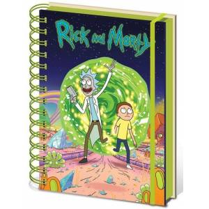 Pyramid International A5 Defter Rick And Morty