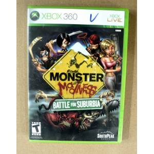 XBOX 360 MONSTER MADNESS BATTLE FOR SUBURBIA OYUN 2.EL