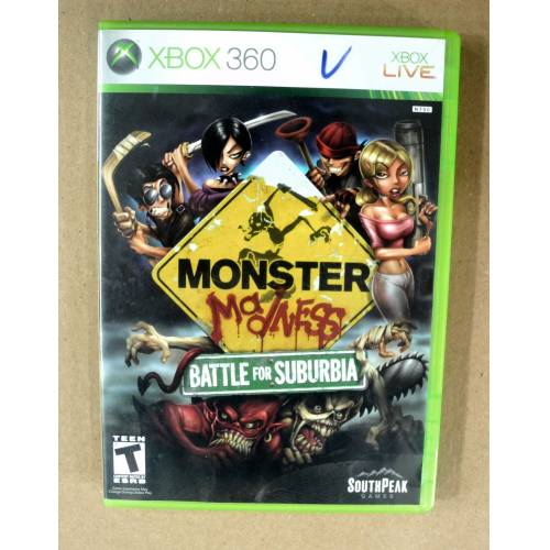XBOX 360 MONSTER MADNESS BATTLE FOR SUBURBIA OYUN 2.EL 340168761