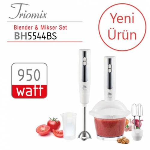 BlueHouse BH5544BS Triomix Blender & Mikser Set