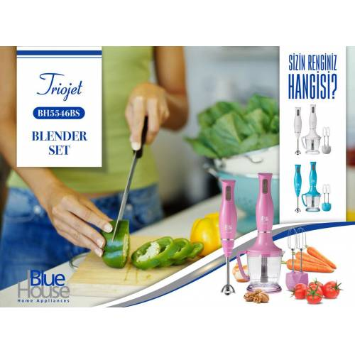 Blue House BH5546BS TrioJet Blender Set