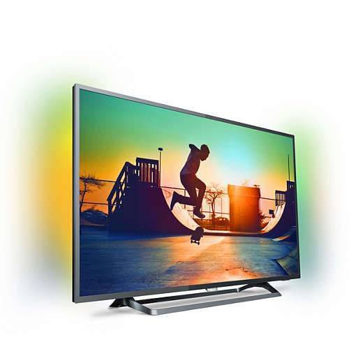 PHILIPS 49PUS6262 124 EKRAN ULTRA HD 4K SMART LED TV