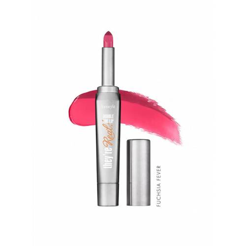 Benefit They're Real Double The Lip Fuchsia Fever 341318647