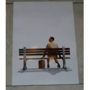 FORREST GUMP  TOM HANKS  FİLM POSTER  31x46 CM