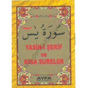Yasin-i Şerif ve Kısa Sureler Ayfa-016 Mini Boy Şamua