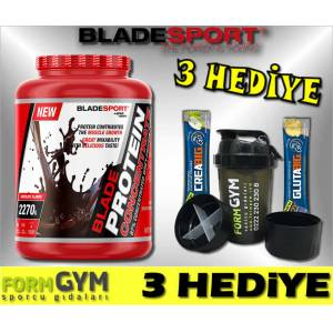 Blade Sport Whey Protein Concentrate 2270 gr  3 HEDİYE