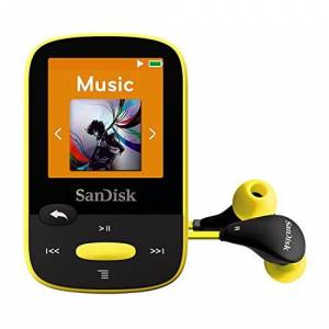 SanDisk Clip Sport 8GB MP3 Player Yellow