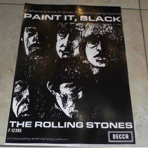 THE ROLLING STONES  POSTER  31x46 CM
