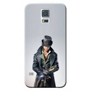 For Samsung Galaxy S5 Kılıf SM-G900F HD Desen Baskılı Silikon Assassins Creed STK229