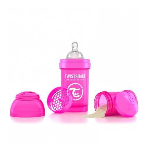 Twistshake Anti-Colic 180ml Biberon Pembe
