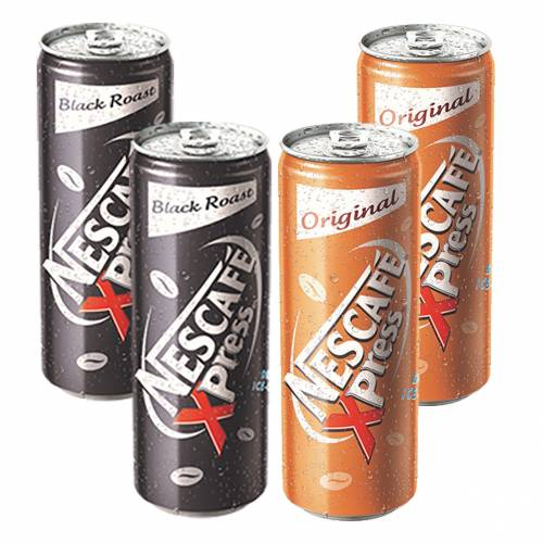 NESCAFE XPRESS BLACK 250 ML 2AD+NESCAFE XPRESS LATTE 250 ML 2AD