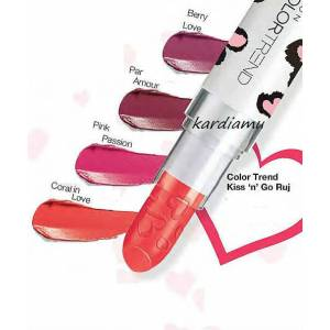 AVON COLOR TREND RUJ - CORAL IN LOVE (SINIRLI ÜRETİM)