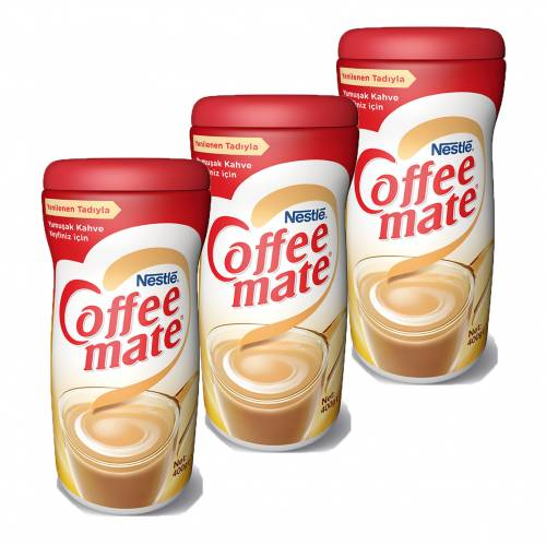 Nescafe Coffee Mate 400gr Ekopaket 3'lü Set