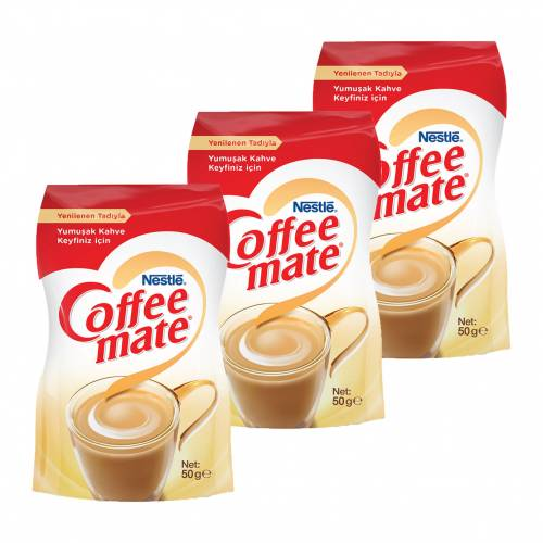 Nescafe Coffee Mate 50gr Ekopaket 3'lü Set