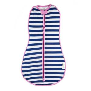 Woombie Original Kundak - Navy Stripe Girl