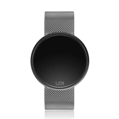 UP ROUND STEEL BLACK&SILVER TWO TONE