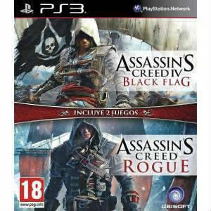 Assassın.S Creed IV Black Flag.Rogue 2 in1 ps3 Oyunu
