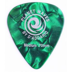 Planet Waves Classic Celluloid Green Pearl Medium .70mm - 1 Adet Pena