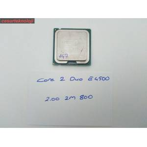 İNTEL CORE 2 DUO E4500 CPU 2.20 Ghz 2M 800 SOKET 775 İŞLEMCİ 147