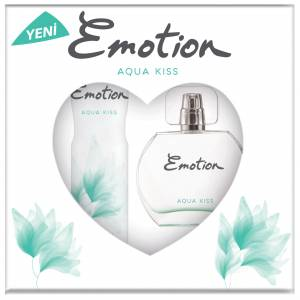 Emotion Aqua Kiss Parfüm 50 ml amp Deodorant 150 ml