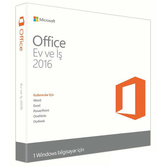 Microsoft Office 2016 Ev ve İş