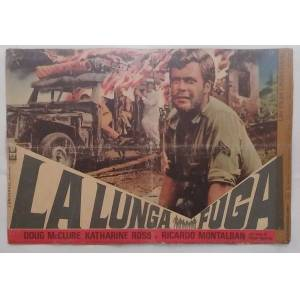 AFİŞ  POSTER - ÖLÜM YOLU The Longest Hundred Miles 1967 Doug McClure 8 POSTER YABANCI BASKI ita01
