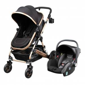 Norfolk Baby Voyage Air Luxury 5 in1 Travel Sistem Bebek Arabası - SİYAH