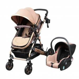 Norfolk Baby Voyage Air Luxury 5 in1 Travel Sistem Bebek Arabası - KAHVE - 3213