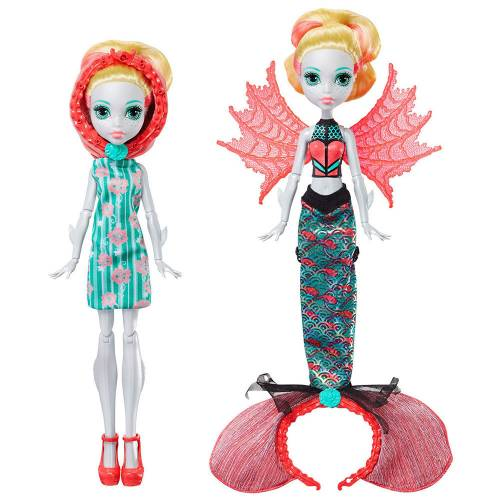 Monster High Denizkızına Dönüşen Lagoona Blue
