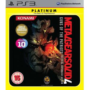 Orjinal Ps3 Oyun Metal Gear Solid 4 Gun Of The Patriots Tactical Espionage Action Playstation 3