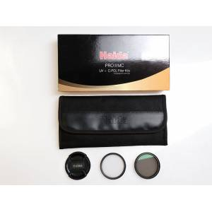 Haida PRO2 UV  PRO2 C-POL Multi coating Filtre Kit 58 mm