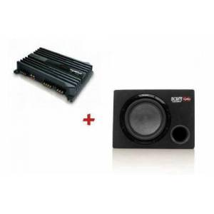 Sony XM-N1004 Amfi ve Sony XS-GSW121 kabinli Subwoofer Set