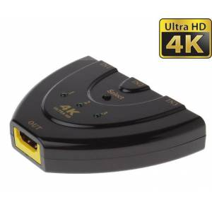 4K Ultra HD 3 Port Full HD 1080p 1.4v Mini HDMI Auto Switch IFT