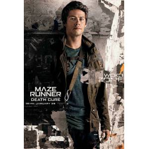Maze Runner The Death Cure 2018 MİNİ AFİŞ-POSTER 21 cm x 297 cm THOMAS