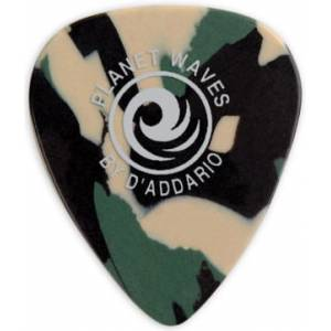 Planet Waves Camouflage Celluloid Guitar Picks 1 Adet Light Pena