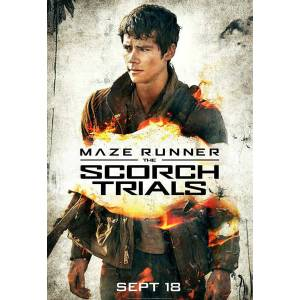Maze Runner The Scorch Trials 2015 AFİŞ-POSTER 21 cm x 29.7 cm  THOMAS