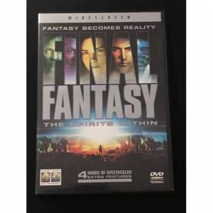Final Fantasy The Spirits Within DVD  2 DISC