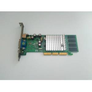 64 MB WinFast A180T Nvidia GeForge4 MX-440 AGP 8X EKRAN KARTI VGA S-Video TV-OUT