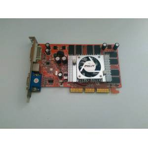 256 MB Palit FX5500 AGP 8X EKRAN KARTI VGA DVI TV-OUT