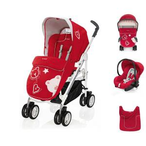 Brevi Millestrade Red Bear Travel Sistem Bebek Arabası