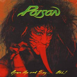 POISON - Open Up and Say... Ahh , LP Hard Rock