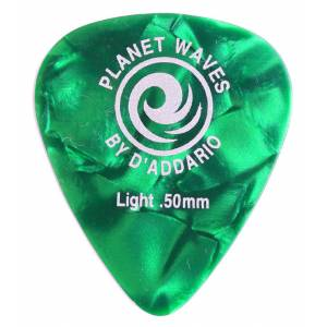 Planet Waves Classic Celluloid Green Pearl Light .50mm - 1 Adet Pena