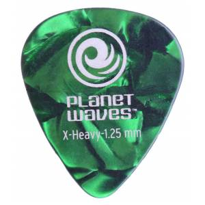 Planet Waves Classic Celluloid Green Pearl  X-Heavy 1.25mm - 1 Adet Pena