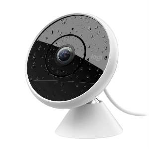 Logitech Circle 2 IndoorOutdoor Wired Home Security Camera Works with Alexa HomeKit and Google w