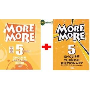 5.Sınıf more more english practice book  dictionary 2019